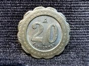 France, 20 Centimes Shop Token, VF, T1508